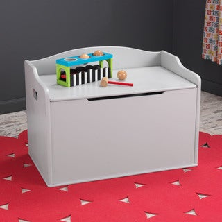KidKraft Austin Grey Fog Toy Box
