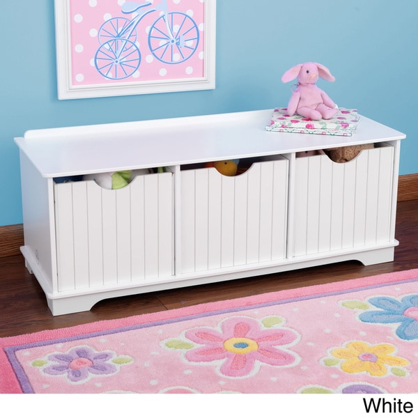KidKraft Nantucket Storage Bench   Free Shipping Today   Overstock.com    16375597