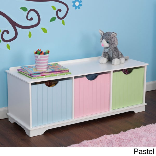 Kidkraft Nantucket Storage Bench Free Shipping Today 16375597