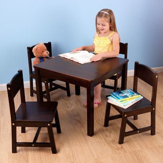 KidKraft Farmhouse Wood 5-piece Table and Chairs Set
