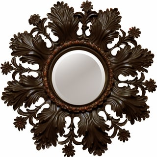 Ornate Bronze Accent Mirror