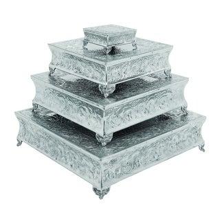 Aluminum Cake Stand (Set of 4)