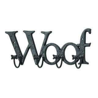Wall Hook With Woof Message
