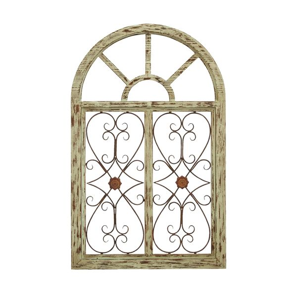 Wood Garden Wall Plaque Free Shipping Today Overstockcom