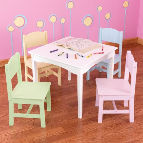 KidKraft Nantucket 5-piece Table and Chairs Set - Multi