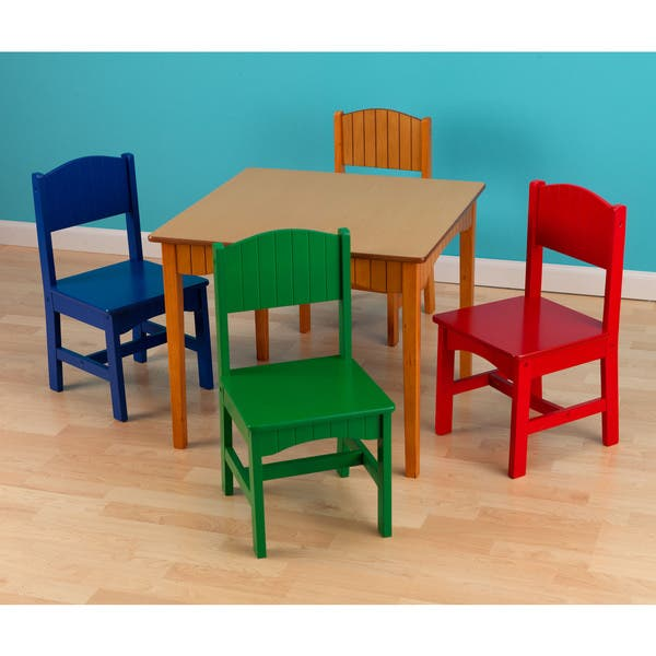 Shop Kidkraft Nantucket 5 Piece Table And Chairs Set Multi