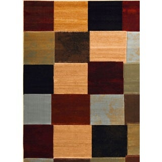 Home Dynamix Evolution Collection Contemporary Multi Area Rug (7'1X10'2)