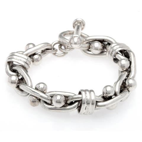 Kele & Co. Sterling Silver Signature Bracelet