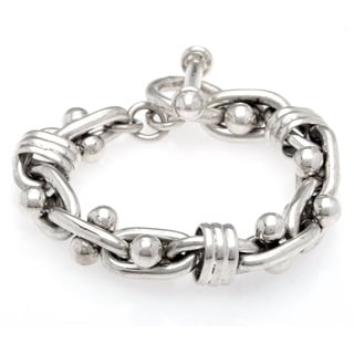 Kele & Co. Sterling Silver Signature Bracelet