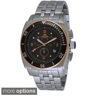 Oniss Men's Fuse Collection Chronograph Watch|https://ak1.ostkcdn.com/images/products/9204569/P16375744.jpg?impolicy=medium