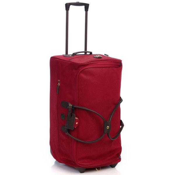 551250d82e Shop Bric s Life Red 28-inch Rolling Duffel Bag - Free Shipping ...