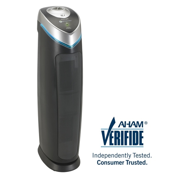 GermGuardian AC5000 28-inch HEPA Tower with UV-C - Black. Opens flyout.