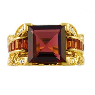 Beverly Hills Charm 14k Yellow Gold 1/2ct TDW Diamond Gemstone Ring (H-I, I2-I3)