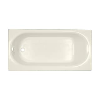 American Standard Princeton Luxury Ledge 5-foot Left-hand Drain Linen Bathtub