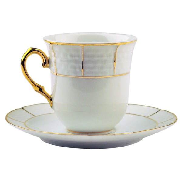 Alpine cuisine coffee cup and saucer set free shipping for Alpine cuisine tea set