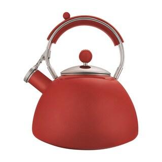 Copco Journey Red Enamel 2.5-quart Tea Kettle