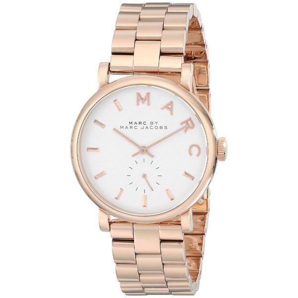 64890c9357284 Shop Marc Jacobs Women's MBM3244 Baker Rosetone Watch - Free ...