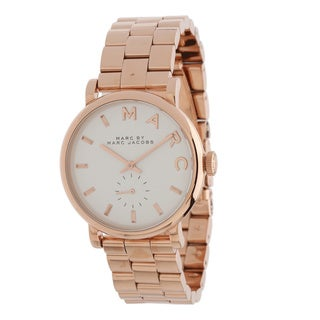Marc Jacobs Women's MBM3244 Baker Rosetone Watch