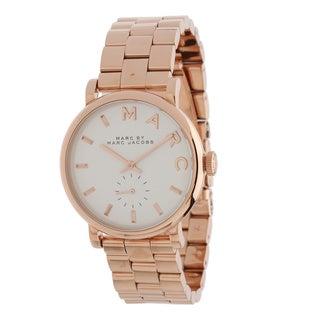 Marc Jacobs Women's MBM3244 Baker Rosetone Watch