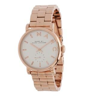 Marc Jacobs Women's Baker Rosetone Watch