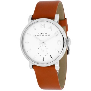 Marc Jacobs Women's MBM1265 Baker Brown Leather Watch|https://ak1.ostkcdn.com/images/products/9204827/P16375944.jpg?_ostk_perf_=percv&impolicy=medium