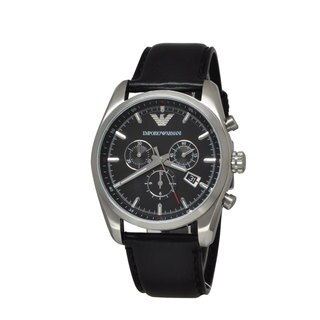 Armani Men's AR6039 Sportivo Black Watch