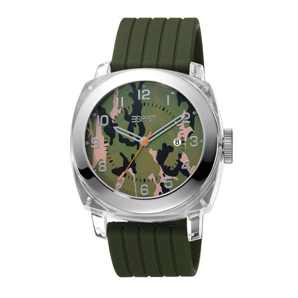 Esprit ES900631003 Green Cube Watch