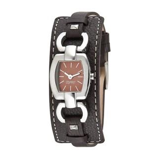 Esprit Women's ES000V12005 Brown Leather Watch