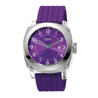 Esprit ES900631004 Purple Cube Analog Watch