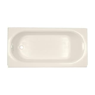 American Standard Princeton Above Floor Rough 5-foot Left-Hand Drain Linen Bathtub