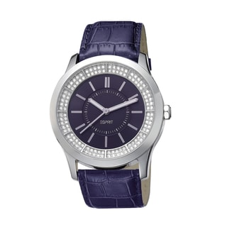 Esprit Women's ES103812003 Circuit Glam Purple Watch
