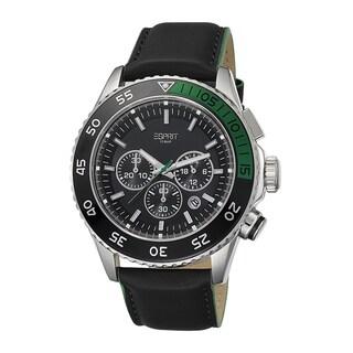 Esprit Men's ES103621001 Varic Chronograph Black/ Green Watch