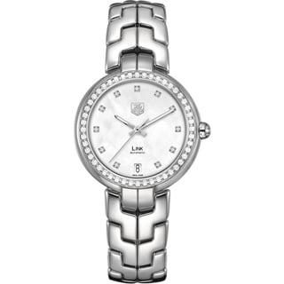 Link to Tag Heuer Women's WAT2314.BA0956 Diamonds Silver Steel Bracelet & Case Anti-Reflective Sapphire Watc Similar Items in Women's Watches