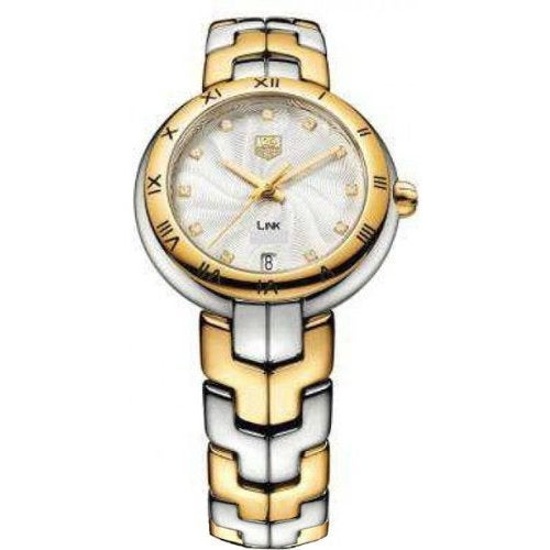 Tag Heuer Women's WAT1352.BB0962 'Link' Silver Dial Two T...