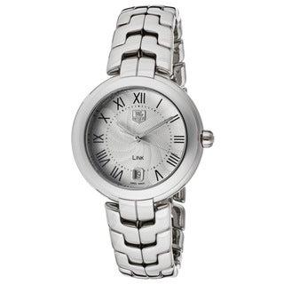Link to Tag Heuer Women's WAT1314.BA0956 Link Silvertone Watch Similar Items in Women's Watches
