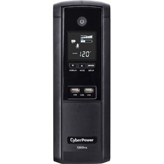 CyberPower Intelligent LCD Series BRG1350AVRLCD 1350VA 510W UPS with