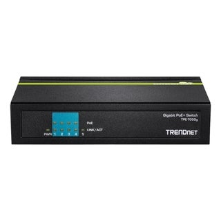 TRENDnet 5-Port Gigabit PoE+ Switch