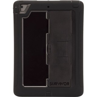 Griffin Survivor Slim Carrying Case for Apple iPad Air - Black, Clear