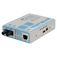 FlexPoint 100Mbps Ethernet Fiber Media Converter RJ45 ST Multimode 5k