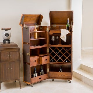 Richfield Rolling Bar Cabinet by Christopher Knight Home