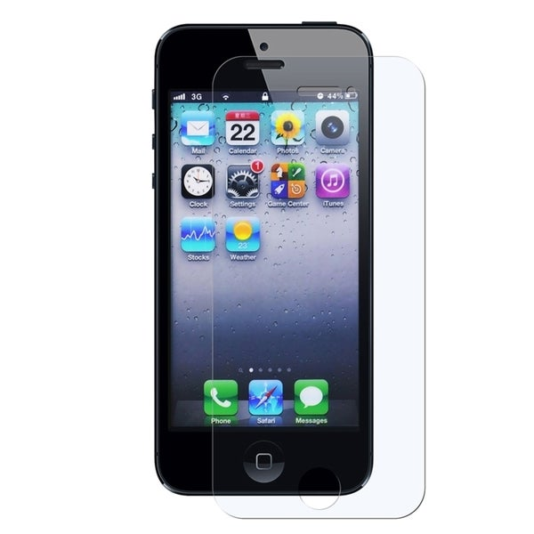 INSTEN Clear Anti-glare Mirror Privacy Screen Protector for Apple iPhone 5/ 5S/ SE