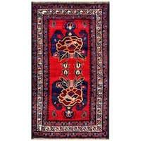 Handmade Herat Oriental Afghan Tribal Balouchi Wool Rug (Afghanistan) - 2'5 x 4'5