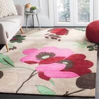 Safavieh Handmade Bella Sand Wool Rug - 2'6 x 4'