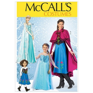 McCall's Patterns-Winter Princess Costume Pattern
