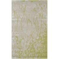 Safavieh Handmade Bella Modern Abstract Silver Wool Rug - 3' x 5'