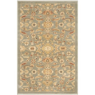 Safavieh Oushak Heirloom Traditional Blue/ Gold Rug (2'6 x 4')