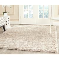 Safavieh New York Shag Ivory Rug - 6' x 9'