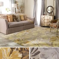 Hand-tufted Garden Floral Wool Area Rug