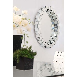 Orbital Oval Wall Mirror
