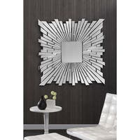 Bang Square Sunburst Mirror